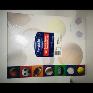 New Package 100 Design Papers Sports made in USA